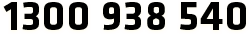 1300 938 540